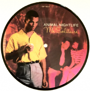"Animal Nightlife - Mr Solitaire (Panther Remix) (7"") (Picture Disc) (VG+/NM)"